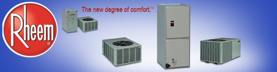 Featured Rheem Products
